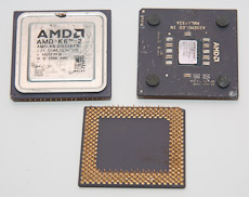 Older ceramic mounted AMD processor