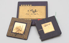 Collection of several older processors